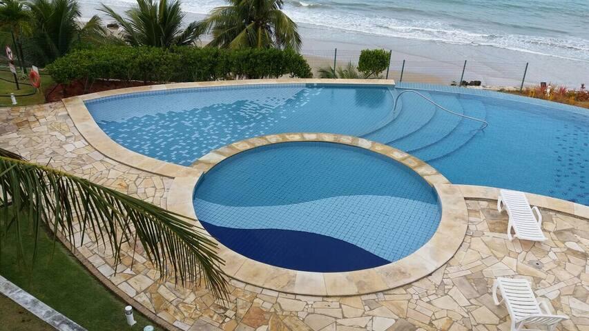 Apartamento de temporada na praia