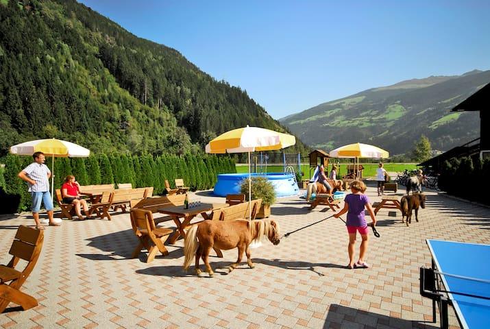 Wohnung (65m²) | 2-4 Personen, Urlaub am Bauernhof - Zell am Ziller - Apartamento