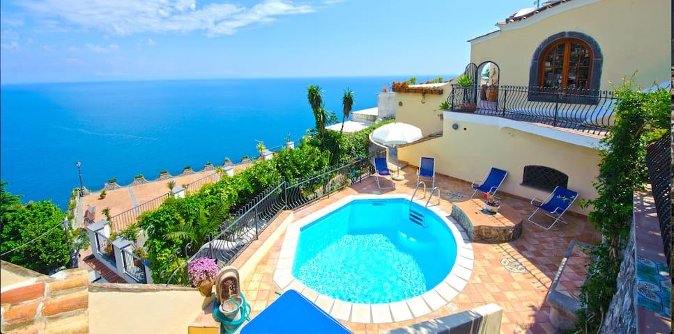 Villa Marianna Praiano Amalfi Coast SWIMMING POOL