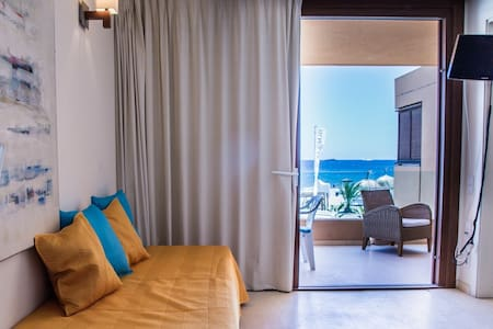 Beach apartment6/ 50m Ushuaia-Hi Ibiza - 圣约瑟夫沙塔莱亚 - 公寓