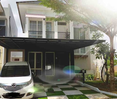 Beautiful house in Balikpapan for short stay