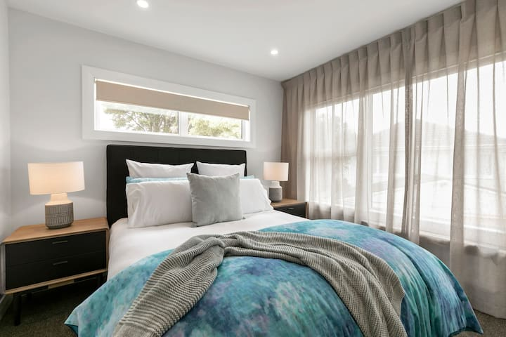 Each room has its own design and style with hotel quality linen and bedding