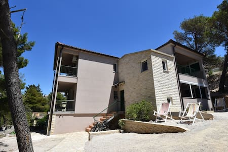 Villa Paula Apt.3 - 50m above Slanica beach