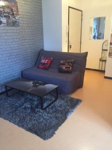 Studio moderne balcon (Quartier Facs, Zénith, ...) - Pau - Apartment