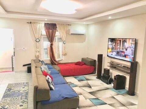 Maison 3 pièces meublée et entièrement climatisée