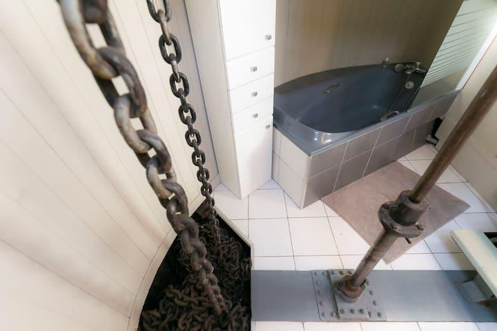 Chambre d'hôtes péniche avc sbd privative - Metz - Tekne