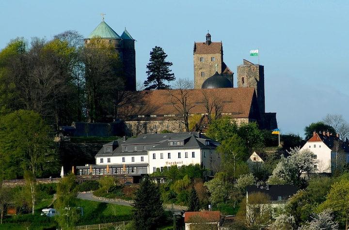 Annas Refugium am Fuße der Burg Stolpen