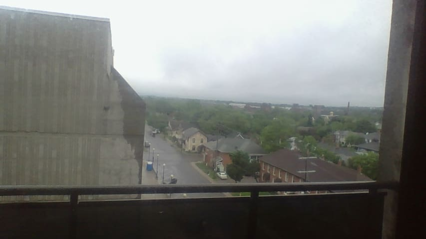 Scenic view from 2 bedroom apartment