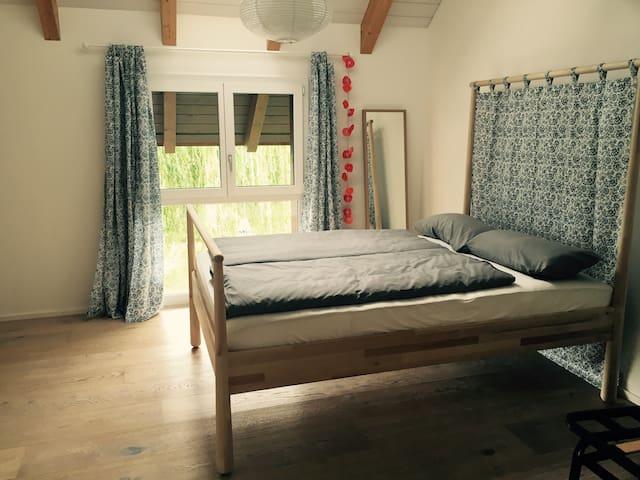 Neu gebaute Gästewohnung mit viel❤️ - Gampelen - Lejlighed
