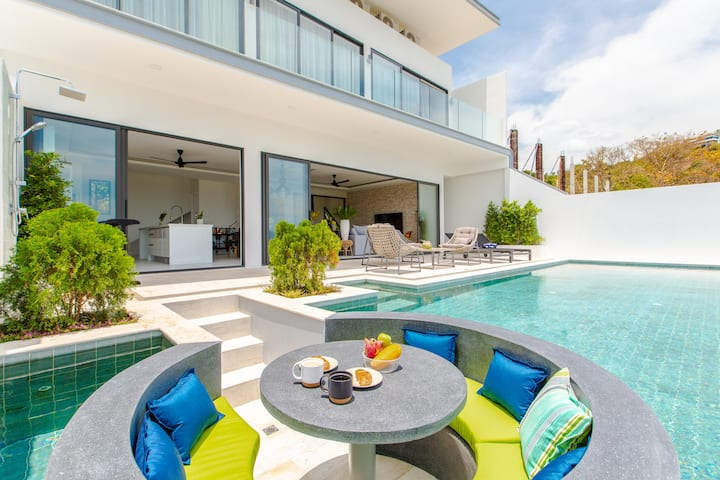 Eclectic Style Villa Nomad Seaview Infinity Pool