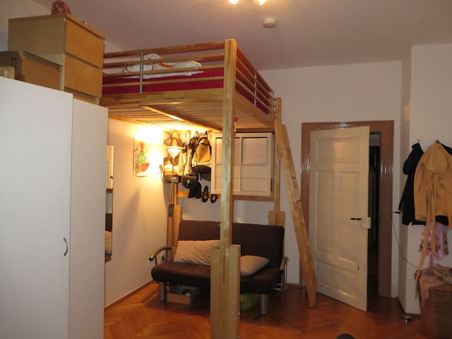 room in shared apartment, loft bed - Heidelberg - Appartement