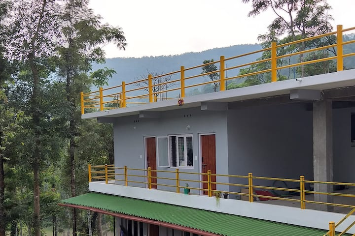 Roots is 15 km away from Madikeri