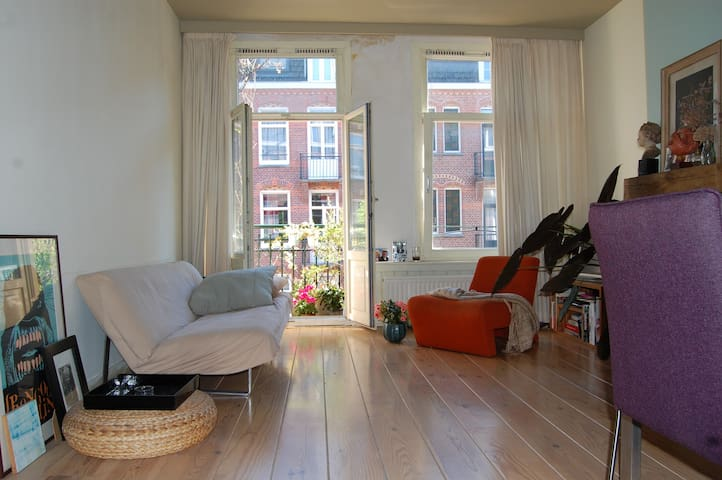 Cute & pleasant apartment next to centre - Amsterdam - Daire