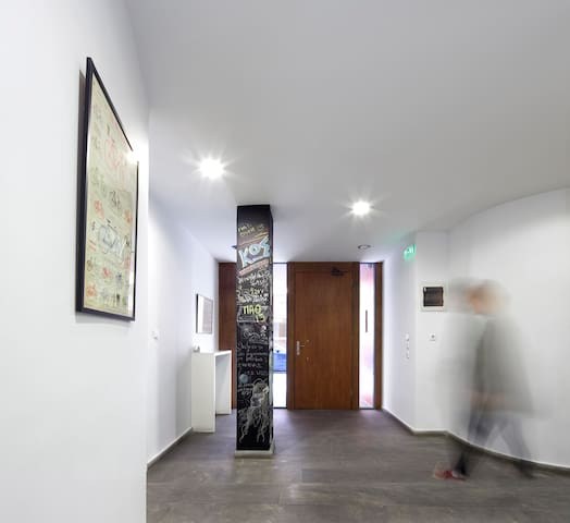 Urban studio in city center of Athens