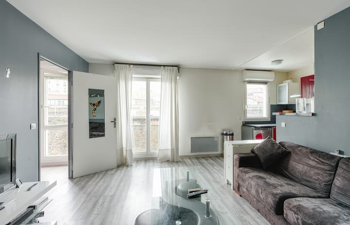 Charming 1br with parking at the heart of La Plaine Saint-Denis - Welkeys