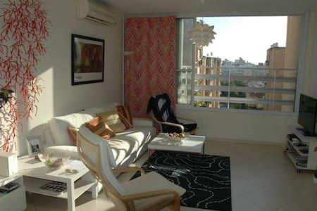 T4 Netanya centre-ville à 5 min à pied de la plage - Netanya - Apartment