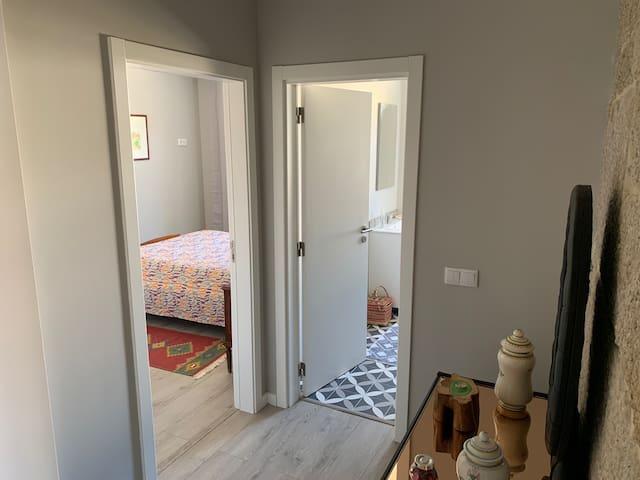 Hall entre Sala e Quarto