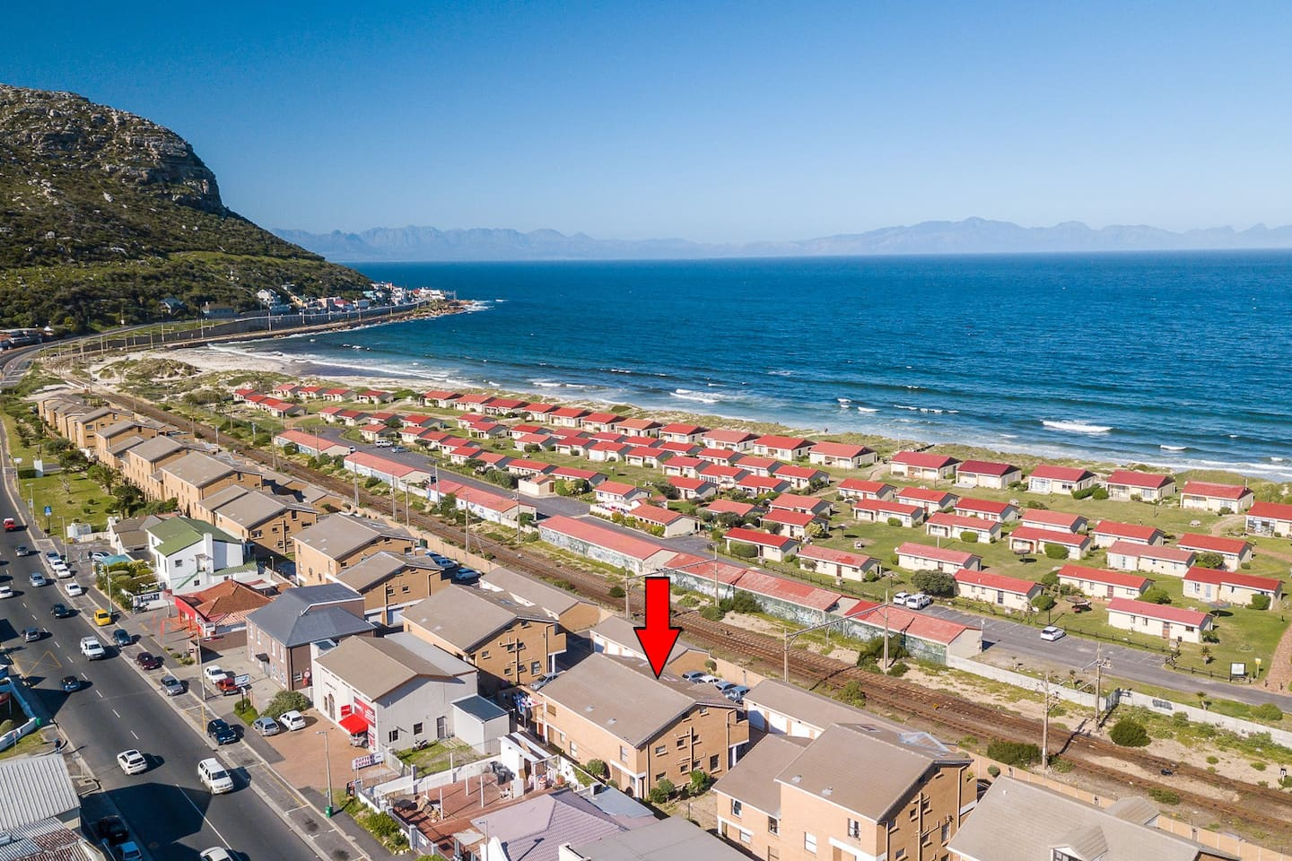 Apartment situated close to Fish Hoek Beach