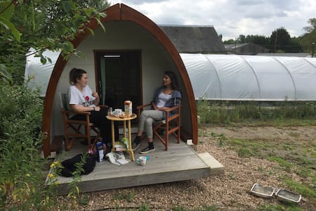 Glamping pod in peaceful spot - Leeds - Annat