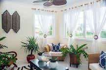 Relaxing shared Zen Room