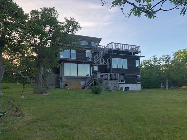 Secluded multi-level house on Chappaquiddick