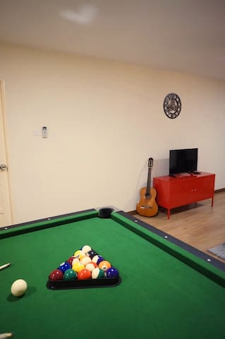 KIU-LUXE APARTMENT (WHOLE) =3BR+2BA/PoolTable/8pax