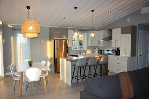 Luxurious beach chalet - Baie des Chaleurs