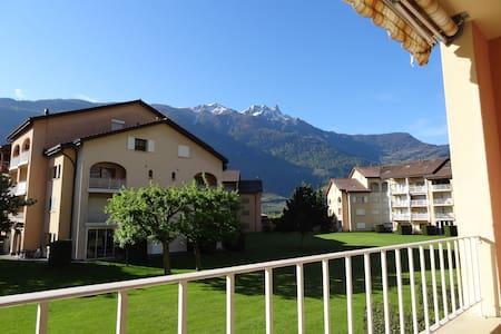 Appartement en Suisse en Valais à Saillon (bains) - Appartamento