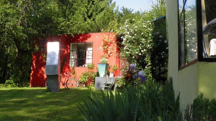 Artist house  lac du Der Chantecocq
