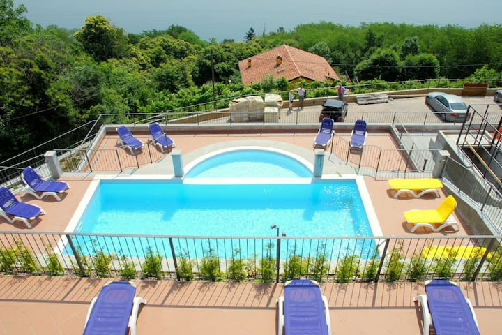Residential complex with panoramic views and pool
