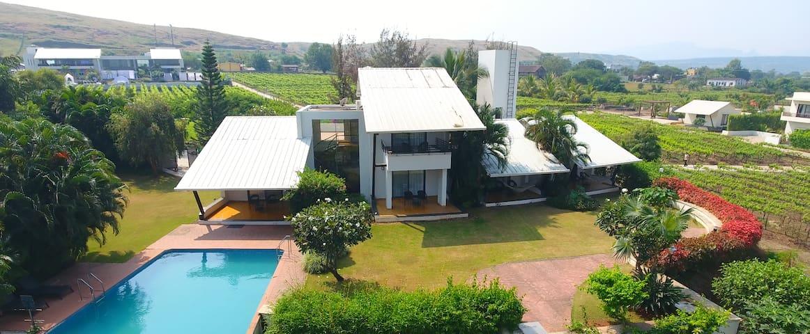 Champagne Villa, Soma Vine Village, Nashik