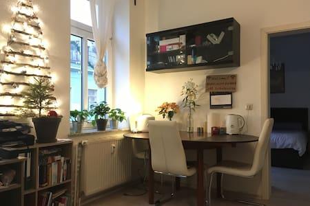 2-room apartment in the heart of Dresden Neustadt