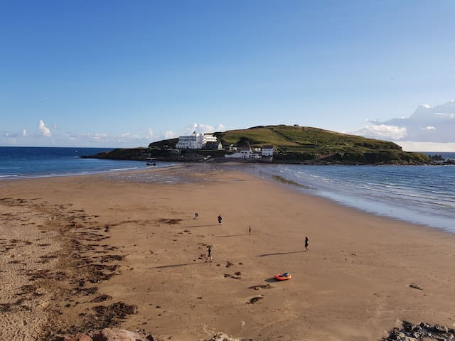 View of Burgh Island from the balcony