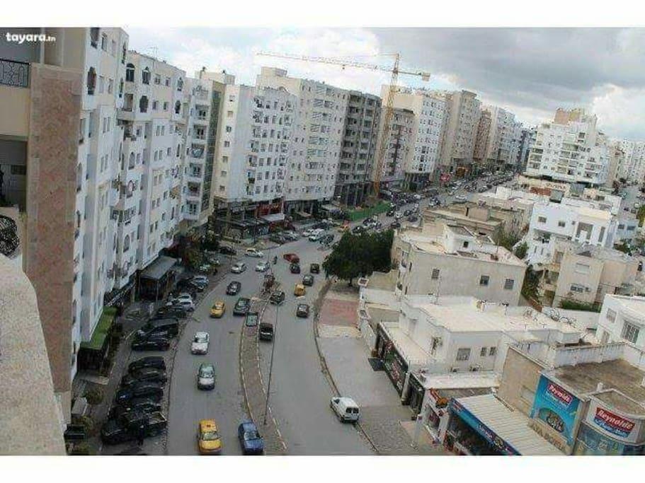 Avenue Hedi Nouira :ennasr