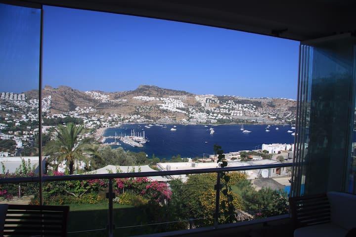 Amazing view on Gundogan bay - Gündoğan Belediyesi - Apartment