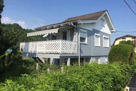 Traumhäuschen zwischen Silbersee und Donau