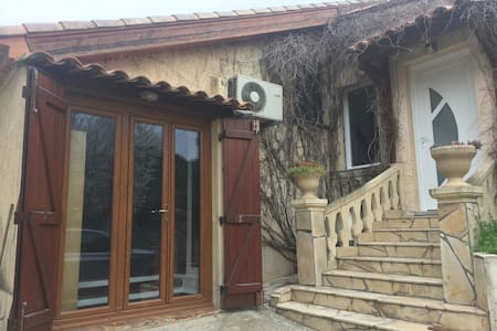 Charmant studio, jardin, au calme - 阿洛 (Allauch) - 独立屋