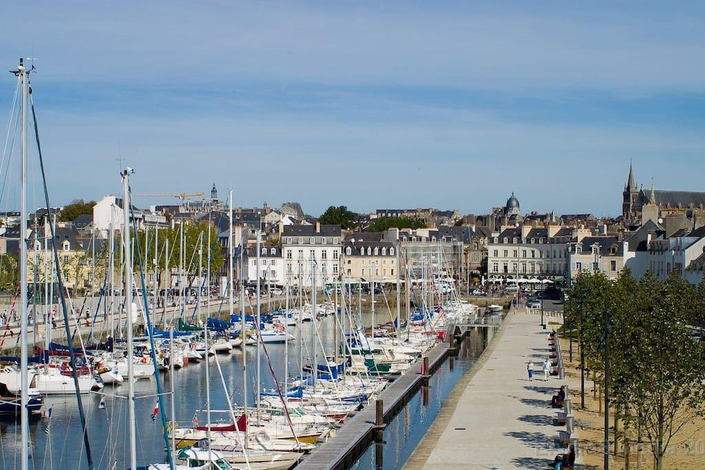Le Port de vannes