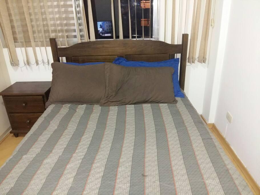 Almofadas do quarto