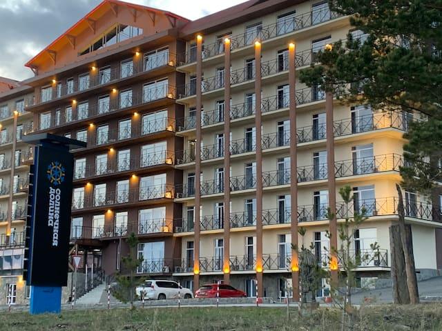 Апартаменты в ГЛК Солнечная долина