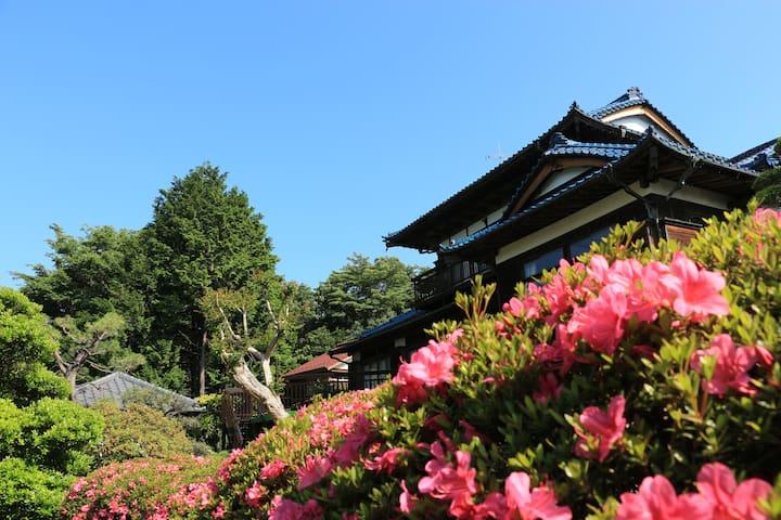 Kogetsu Sanso  ---  Moon Villa in Tokyo