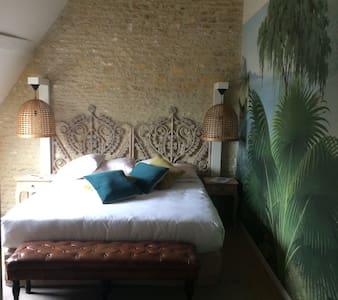 Manoir'Hastings  Chambre exotique - Bénouville
