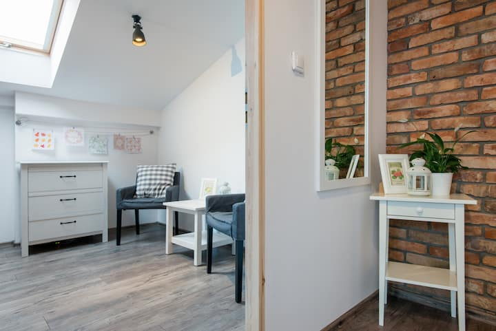 ♡ Cosy flat, best location & two seperate bedrooms