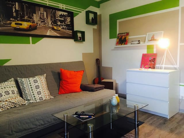 Sehr zentrales und tolles Apartment (central/cosy)