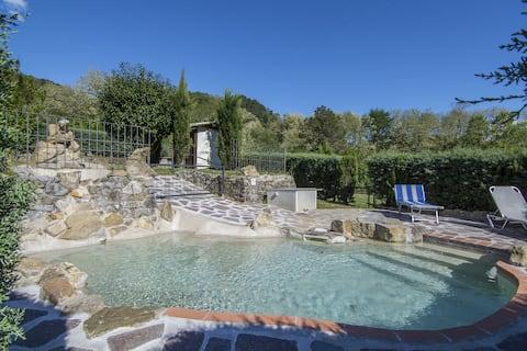Lucca-Tuscane privé zwembad voor exclusief gebruik