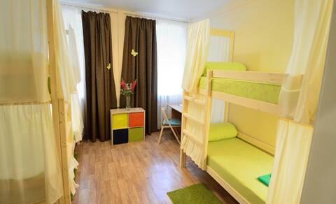 Кровать в 4-х местном номере