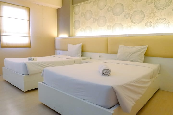 Best View Studio Room Apartment at Puncak Permai