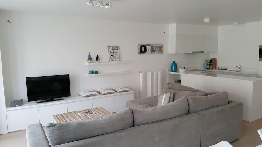 Cosy new apartment on nice location - Knokke-Heist - Lakás