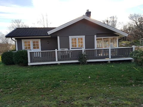 House with fantastic surroundings in Halmstad V