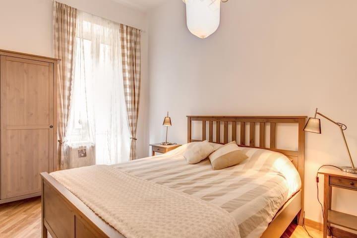 Splendida camera da letto nel centro di Roma